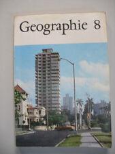 DDR Geographie Lehrbuch Kl. 8 Schulbuch Afrika Amerika Austr. Polargebiet 1983