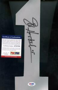 Jeff Hostetler Raiders Giants Jersey Number 1 15 Signed Autograph Auto PSA/DNA