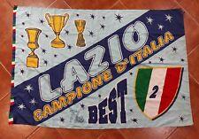 Lazio Flag Football Soccer Italia Champion Campione Match 130x90 Bandiera