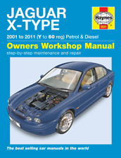 Haynes Workshop Manual Jaguar X Type Petrol & Diesel 2001-2011 Saloon & Estate
