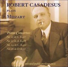 Robert Casadesus Plays Mozart - Piano Concertos Nos. 21 & 23 CD NEW