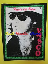 TOPPA patch VASCO ROSSI Fronte del palco 37x32 cm (*)cd dvd lp mc vhs live promo