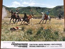CAVALIERS INDIENS  PHOTO EXPLOITATION LOBBY CARD LES COMPAGNONS DE LA GLOIRE
