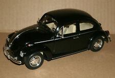 1/24 Scale Volkswagen Beetle Diecast Model Car Type 1 VW Kafer Welly 22436 Black