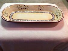 """The Sakura table Les Olives 16"""" Bread Tray Oval Shaped"""