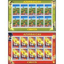 Aserbaidschan Azerbaijan Europa CEPT 2002, Zirkus, Kleinbogen ** (postfr.)