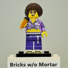 New Genuine LEGO Disco Diva Minifig with Microphone and Skates Series 13 71008