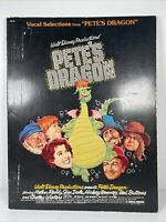 Vintage Rare Walt Disney PETES DRAGON Vocal Selections Sheet Music Book 1977
