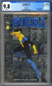 Invincible #1 CGC 9.8 (11/20) ~Blue Foil Edition~Reprints Invincible #1!L@@K!