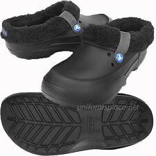 Crocs Clogs Unisex Mens Womens Clogs Faux Fur Lined Clog Blitzen, Mammoth Shoes