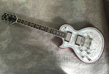 NEW BRAND Electric Guitar With Engraved Aluminum Top In Left-handed
