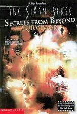 Secrets From Beyond: Survivor #1 (Sixth Sense)-ExLibrary