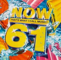 NOW THAT'S WHAT I CALL MUSIC VOLUME 61 various (2X CD album, compilation, 2005)