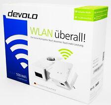 Devolo dLAN 550 WiFi WLAN Starter Kit - Powerline weiß/white - NEU & OVP
