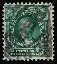 Scott#313 $5 John Marshall 1903 Used