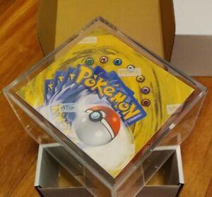 1999 Pokemon Base Set Booster Box Green Winged Charizard SUPER RARE!!
