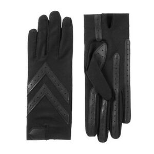 Isotoner Women's smartDRI Chevron Shortie Touchscreen Gloves - A30101