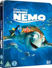 Finding Nemo 3D Limited Edition Steelbook Lenticular UK Exclusive Blu-ray NEW