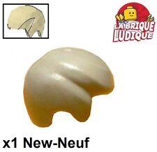 Lego - 1x Minifig cheveux coiffure hair beige/tan 3901 NEUF