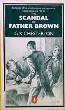 The Scandal of Father Brown G. K. Chesterton ex-library paperback grave scandal!