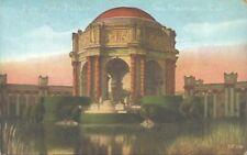 Antique Postcard  Fine Arts Palace San Francisco California 1924