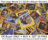 THE LEGO MOVIE 2 | 2019 | Stickers | SELECT YOUR > *NEW* Album Sticker (1-182)