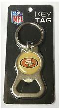 San francisco 49ers nfl logo metal décapsuleur clé chaîne