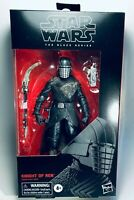 STAR WARS BLACK #105 KNIGHT OF REN 6in Figure Rise of Skywalker Dented Box
