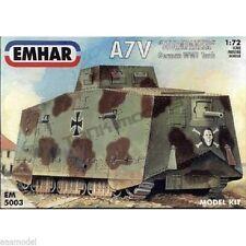 EMHAR 1/72 German A7V Sturmpanzer WWI Tank 5003