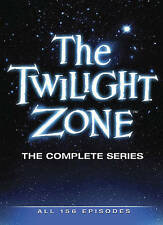 The Twilight Zone The Complete Series (DVD, 2013, 25-Disc Set, All 156 Episodes)