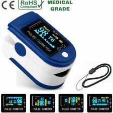 Fingertip pulse SpO2 Oximeter Blood Oxygen Saturation PR Meter Finger Monitor