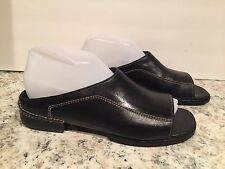Cole Haan Jina Flat Country Sandals Open Toe Leather Black 7.5 B Nice