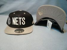 6e354f9b016aa adidas Brooklyn Nets Black 2016 NBA Draft Snapback Hat