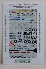 Xtradecal 1/72 X72120 T-33/F-80C estrella fugaz (USAF/Ang) PT 1 DECAL set