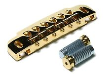 GOTOH 510UB 510 Guitar Wraparound Bridge and Tailpiece wrap around Gold