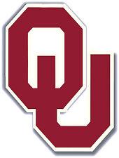 OKLAHOMA Sooners Large Cornhole OU Logo Decals / Set of 2