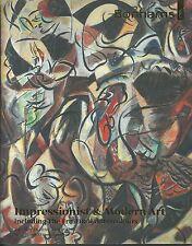 BONHAMS IMPRESSIONIST MODERN ART Dali FruitDali Edy-Legrand Nadal Catalog 2013