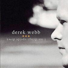 I See Things Upside Down by Derek Webb CD 2004 INO SEALED NEW Christian CCM pop