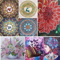 5D DIY Special Shaped Diamond Painting Mandala Cross Stitch Mosaic Kits Decor