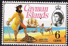 British Cayman Islands Carribian Pirates Turtle stamp 1969 MNH