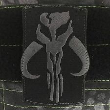Tactical Outfitters Mandalorian Warrior Morale Patch - mythosaur Stealth Version