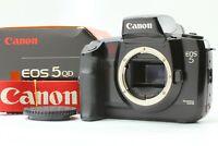 [ Exc+5 in Box ] Canon EOS 5 QD Quartz Date 35mm SLR Film Camera Body From Japan