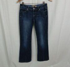 Paige Women's Laurel Canyon Boot Cut Jeans Cotton Blend Dark Wash Size 26