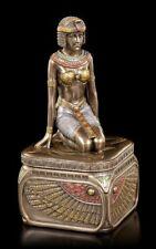 petit égyptien Coffret avec Dienerin - VERONESE boîtes à bijoux déco