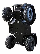 IB 2014-2015 Yamaha 700 Grizzly HDPE poly plastic FULL skid plate Iron Baltic