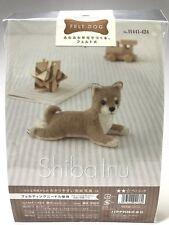 Needle Felting Kit Dog Japan Wool Felt Craft Shiba Inu #1 Hamanaka Free Shipping