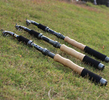 US Stock Clearance! 2.7M Portable Fishing Rod Telescopic Spinning Carbon Fiber