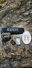 Rode VideoMic Pro On-Camera Shotgun Microphone with rechargeable 9v battery