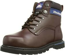 NEW HIMALAYAN 3103 Men's Leather Safety Boots In Brown - SIZE UK 11 BOXED -F05