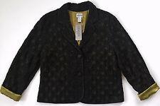 CHICOS Women Black Gold Sequin Sidney Jacket Dressy Coat Blazer Sz 2 XS NWT $229